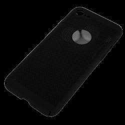 Husa iPhone 8 TPU Perforat Negru