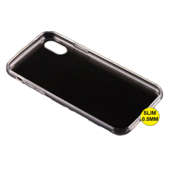 Husa iPhone X Silicon Transparent1
