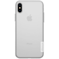 Husa iPhone X Silicon Transparent