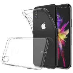 Husa iPhone X Silicon Transparent2
