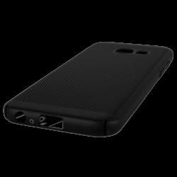 Husa Samsung Galaxy A3 2017 TPU Negru Perforat1