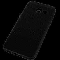 Husa Samsung Galaxy A3 2017 TPU Negru Perforat