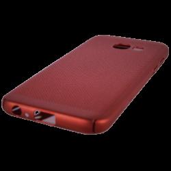 Husa Samsung Galaxy A3 2017 TPU Rosu Perforat2