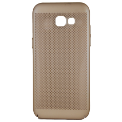 Husa Samsung Galaxy A5 2016 TPU Gold Perforat