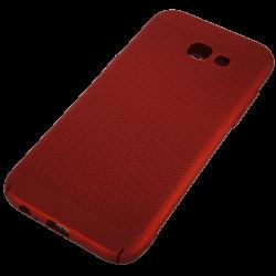 Husa Samsung Galaxy A5 2016 TPU Rosu Perforat