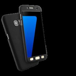 Husa Samsung Galaxy A5 2017 360 Fullcover Silicon Negru