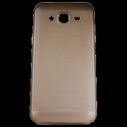Husa Samsung Galaxy J3 2016 TPU Perforat Gold