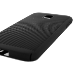 Husa Samsung Galaxy J3 2016 TPU Perforat Negru