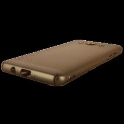 Husa Samsung Galaxy J5 2016 TPU Perforat Gold1