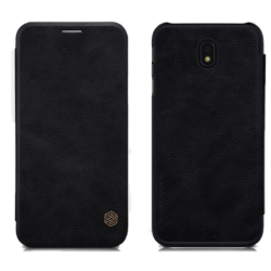 Husa Samsung Galaxy J5 2017 Flip Wallet Carte NILLKIN QIN Ecopiele Negru