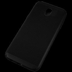 Husa Samsung Galaxy J5 2017 TPU Perforat Negru