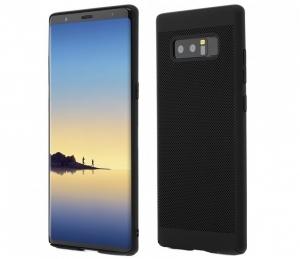 Husa Samsung Galaxy Note 8 TPU Solid Perforat Negru