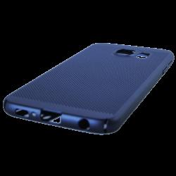 Husa Samsung Galaxy S6 TPU Perforat Bleumarin