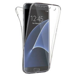 Husa Samsung Galaxy S7 EDGE 360 Fullcover Silicon Transparent
