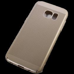 Husa Samsung Galaxy S7 TPU Perforat Gold