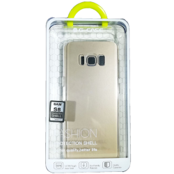 Husa Samsung Galaxy S8 G-CASE Silicon Transparent1