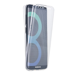 Husa Samsung Galaxy S8 Plus 360 Fullcover Silicon Transparent0