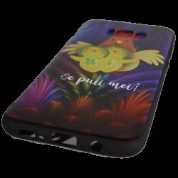 "Husa Samsung Galaxy S8 TPU Negru Print Mesaj 3D ""Ce puii mei!"""