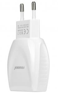 Incarcator perete cu 2 porturi USB Fineblue F-C16+ cablu IOS