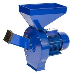 Moara cereale si furaje 2500W, 2800 RPM, 200kg/ora, TEMP-4, bobinaj cupru, 4 site1