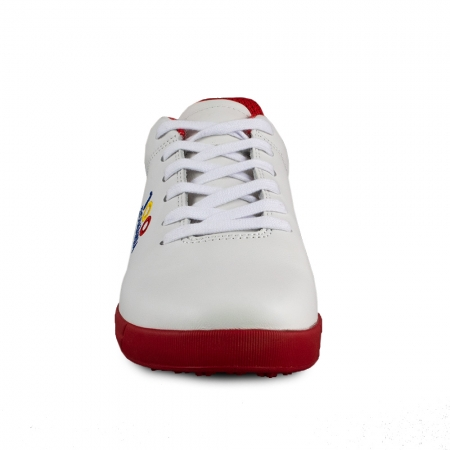 Sneaker box Centenar GARANTIE 365 ZILE Alb/rosu2