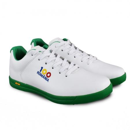 Sneaker box Centenar GARANTIE 365 ZILE - Alb/Verde2