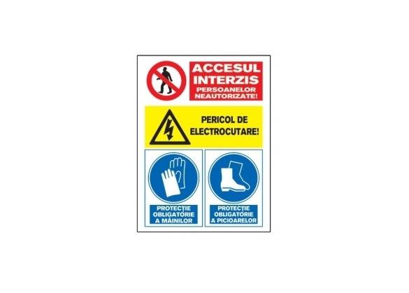 Tablite avertizare A4 0