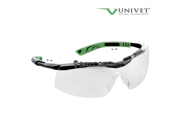 Ochelari de protectie 5x8 cu lentile incolore, art. 8052 1