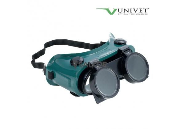 Ochelari de protectie cu lentila de sticla pentru sudori Duo, art. D962 [0]