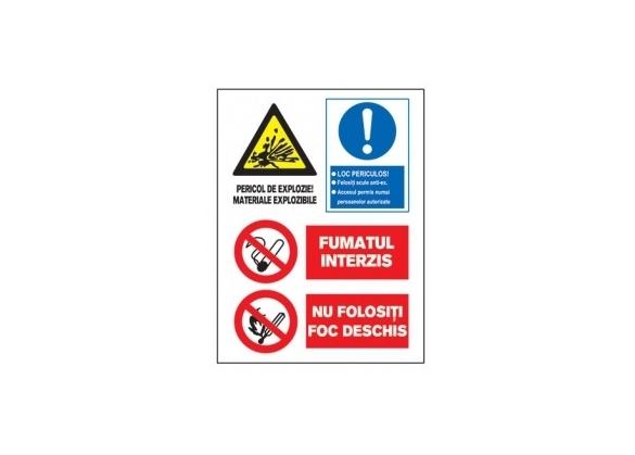 Tablite avertizare A3 - 0