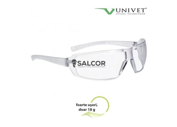 Ochelari de protectie Stil 553 cu lentila incolora, art. 8014 0