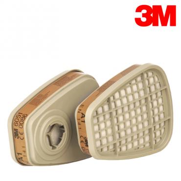 Filtru vapori organici art. 6051 (3M) 0