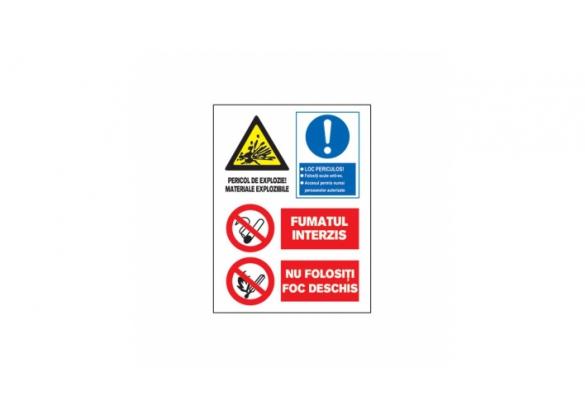 Tablite avertizare A3 - 1