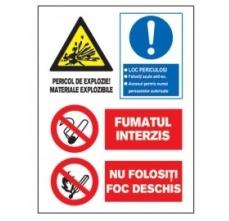 Tablite avertizare A3 -