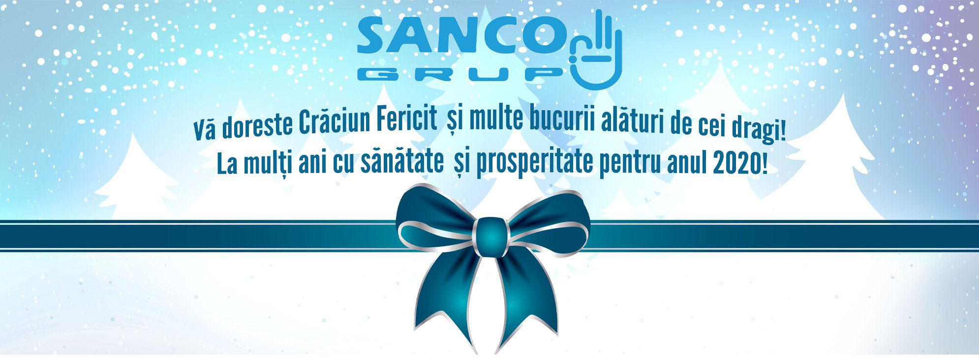 Program de sarbatori familia sanco grup 2019