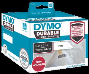 Etichete DYMO  LabelWriter DURABLE si Aparat etichetat DYMO LabelWriter 450 TWIN1