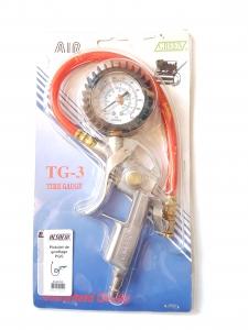 Pistol de umflat PGS cu manometru, presiune lucru 0-10 bar, AG58100 ALSAFIX1