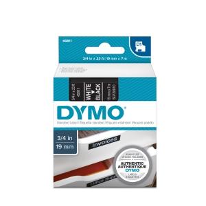 Banda D1 19 mm x 7 m, alb / negru, DYMO DY 45811 DY45811 S07209102