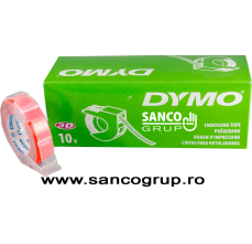 Banda DYMO embosabila, plastic, orange, 12 mm x 3 m