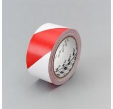 Banda marcare/protectie, 2 culori, 3M 767I vinil, rosu/ alb, 50mm X 33m, 24 role/cutie1