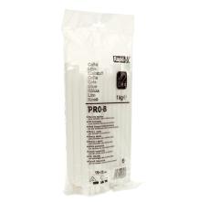 Batoane lipici Rapid PRO-B, Ø12mmx190mm, alb, 1.000g, punga0