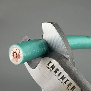 Cleste foarfeca taiat cabluri ENGINEER PK-51, 212 mm, fabricat in Japonia1
