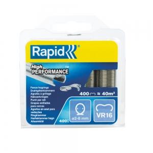 Capse gard Rapid HOG VR16/2-8mm, galvanizate, 400/ cutie
