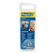 Ocheti Rapid  - diametrul de 4 mm, aluminiu, sistem fixare inclus, 100buc/ blister1