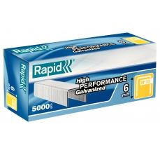 Capse Rapid 13/6 mm, galvanizate, 5.000/ cutie0