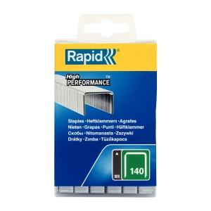 Capse Rapid 140/10 mm, galvanizate, 5.000/ cutie polipropilena0