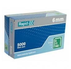 Capse Rapid 140/6 mm, galvanizate, 5.000/ cutie6