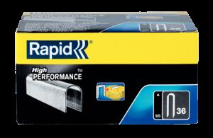 Capse Rapid 36/14 mm, galvanizate, divergente, 1.000 buc/cutie4