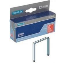 Capse Rapid 53/12 mm, galvanizate, 2.500/ cutie0