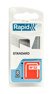 Capse Rapid 53/8 mm, STANDARD, 1.060/ blister0